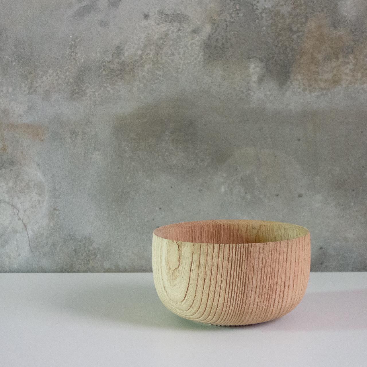 欅の木地碗
