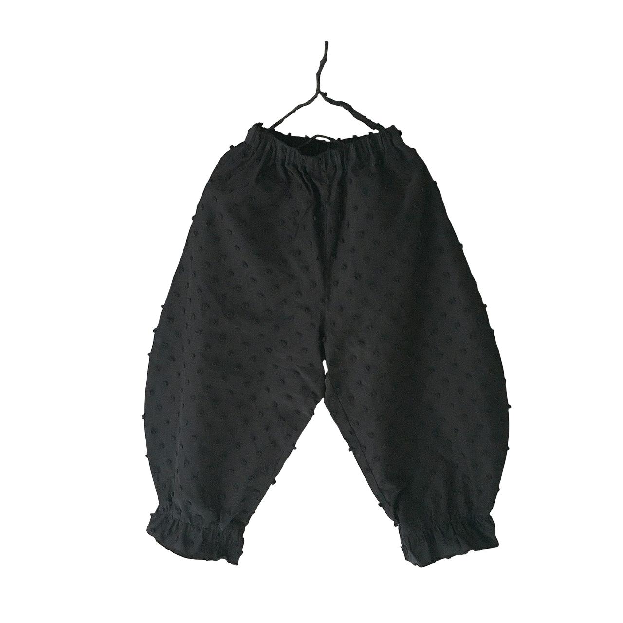 BONBON CUT JQ ANKLE TIDE PANTS / LL