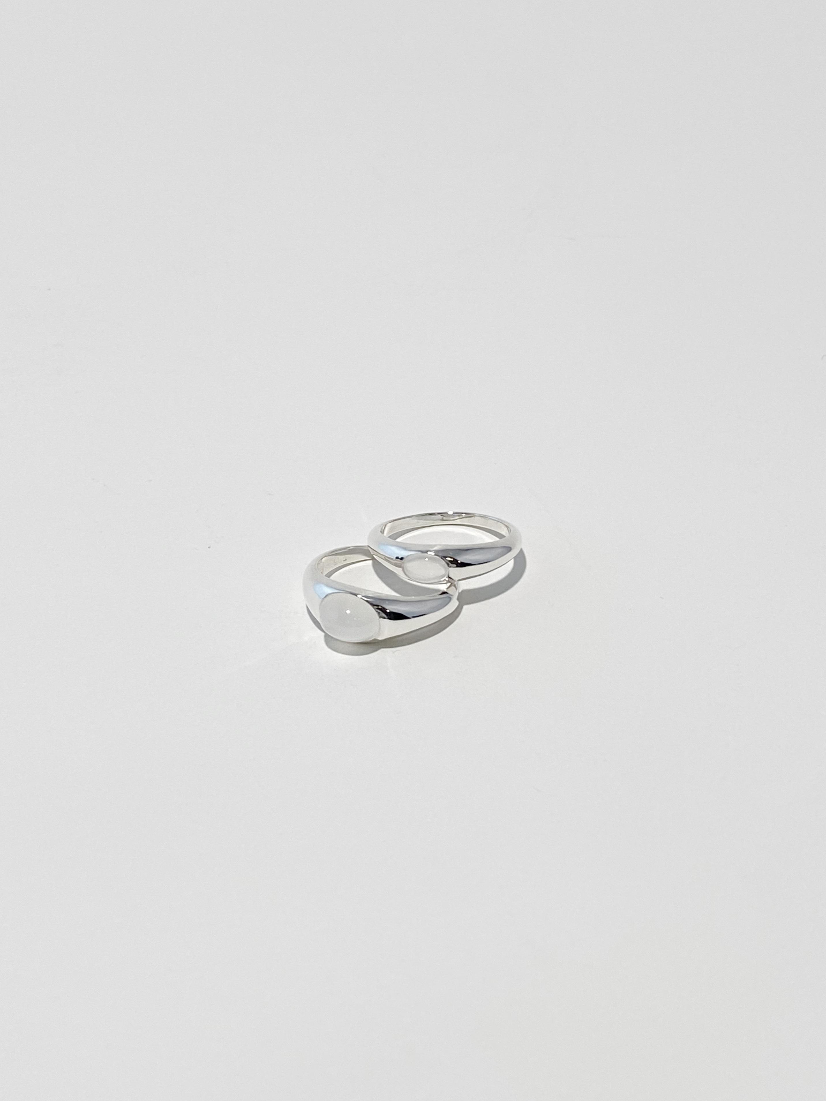 <9/20 発売>moon stone gem round p001 ring