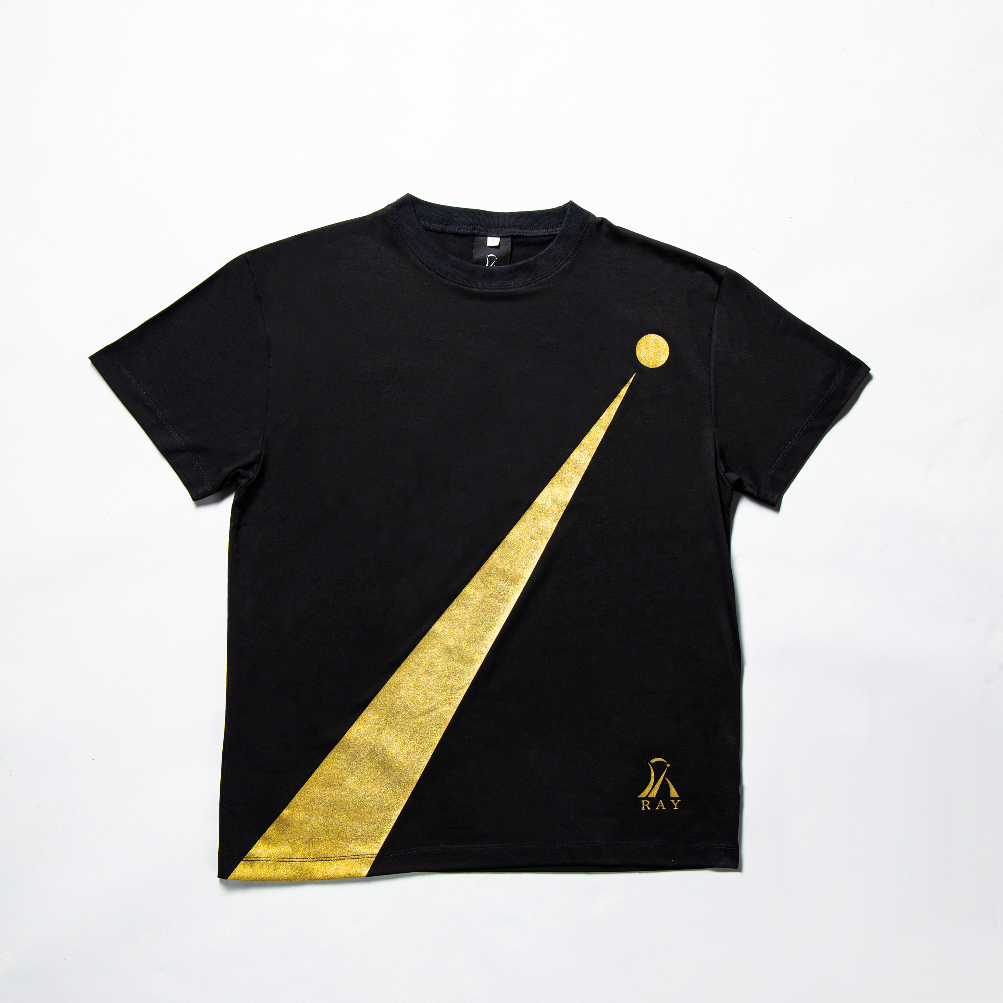 RAY OVER SIZED T -SHIRT BLACK
