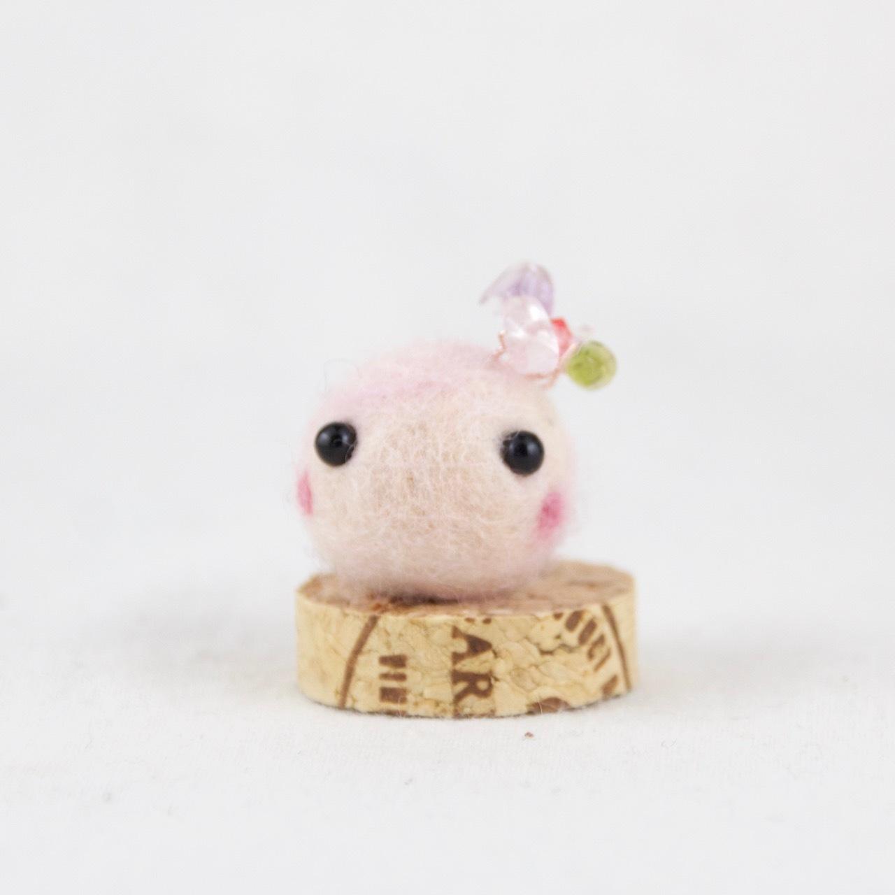 女性性♪:天然石cororin(ピンク)