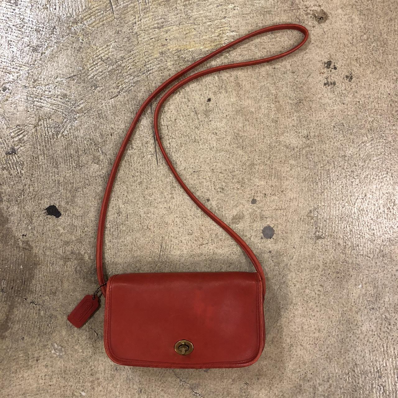OLD COACH #Shoulder Bag Red ¥10,600+tax