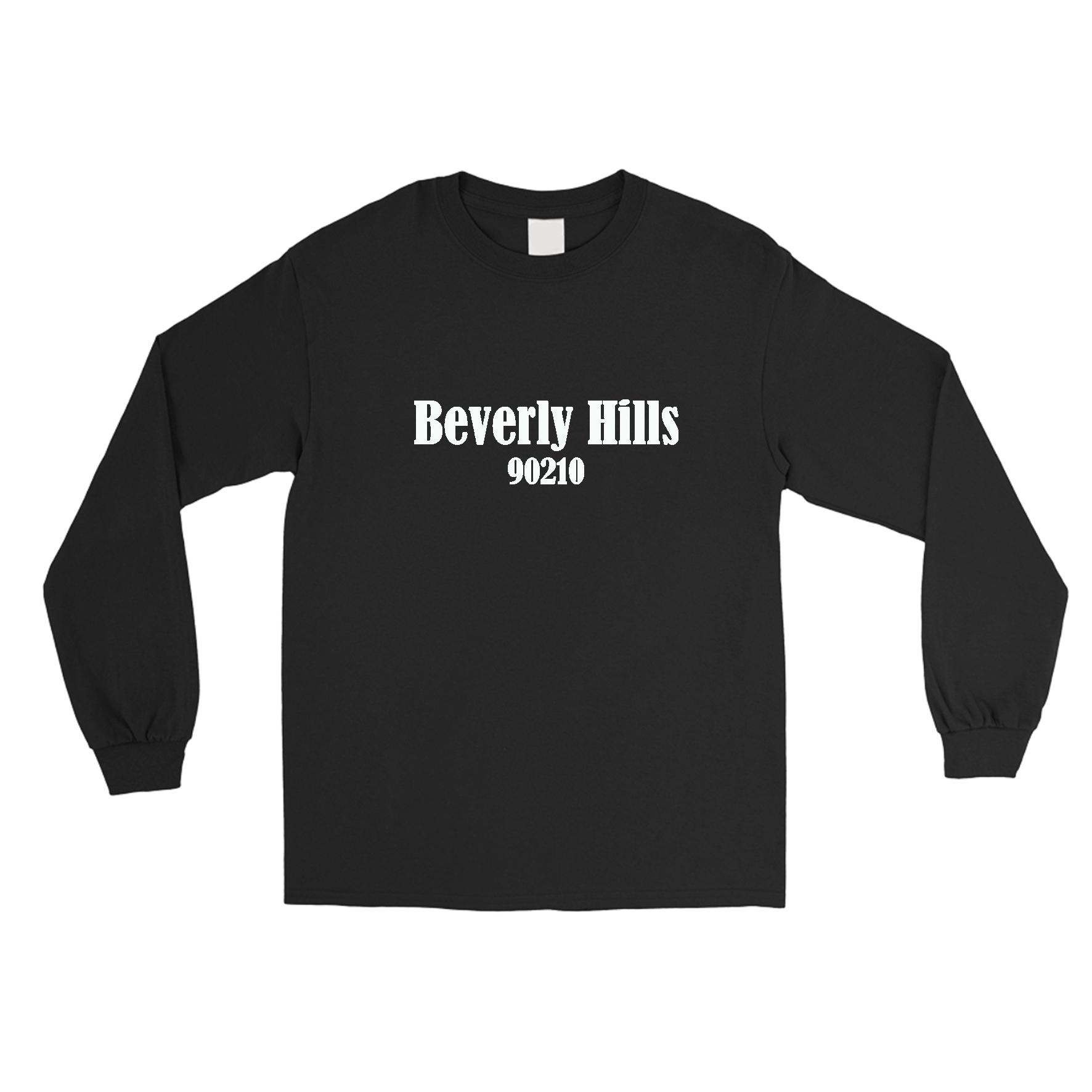Beverly Hills 90210 Logo Long Sleeve