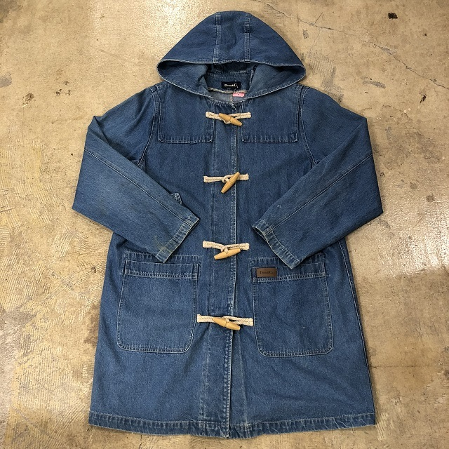 Denim&Co. Denim Toggle Coat