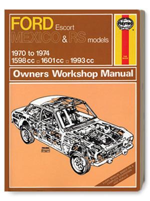 フォード・エスコート・MEXICO & RS・オーナーズ・ワークショップ・マニュアル