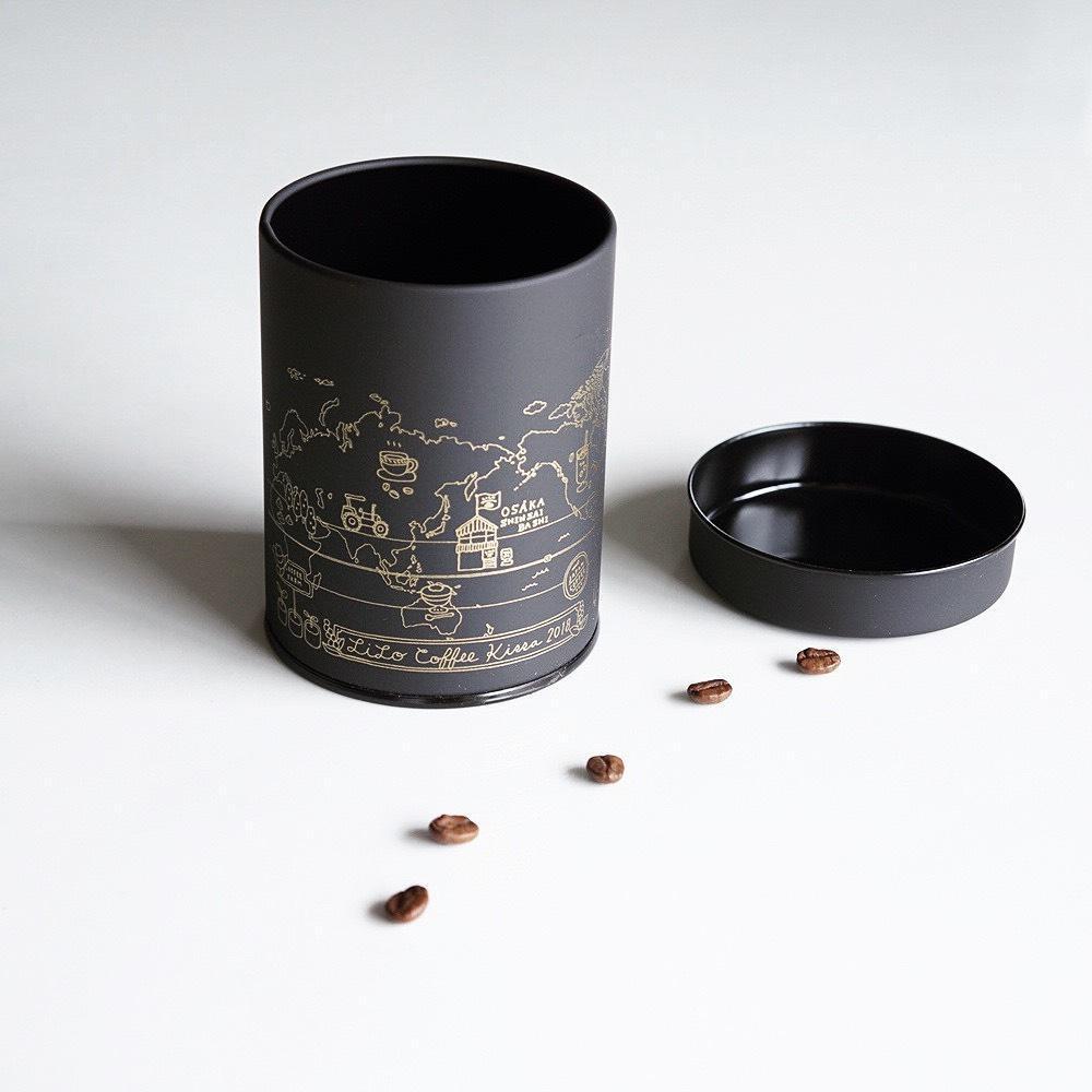 【喫茶限定】Beans Canister 『KU RO FU NE』