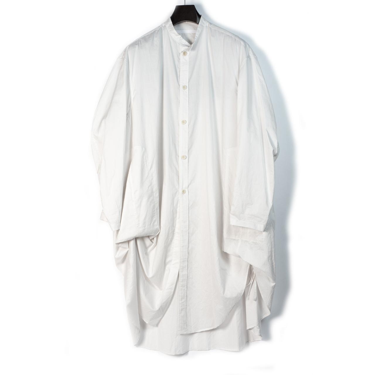 697SHM1-P-WHITE / バックプリントオーバーシャツ
