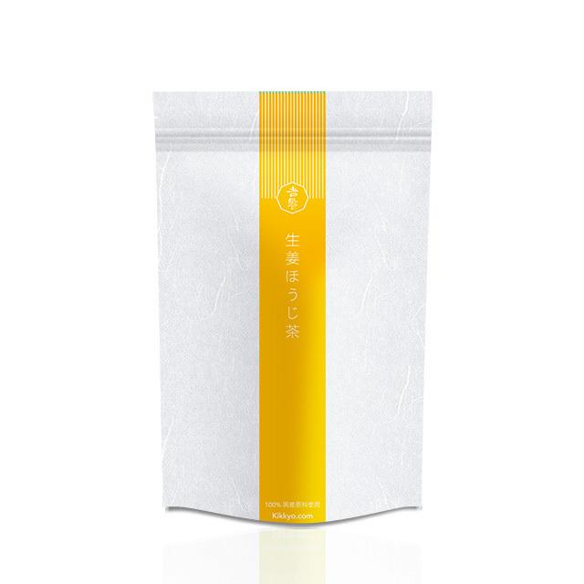 吉饗 Kikkyo  生姜ほうじ茶  燃焼 100% 国产原料使用  10バッグ 高知県産生姜使用