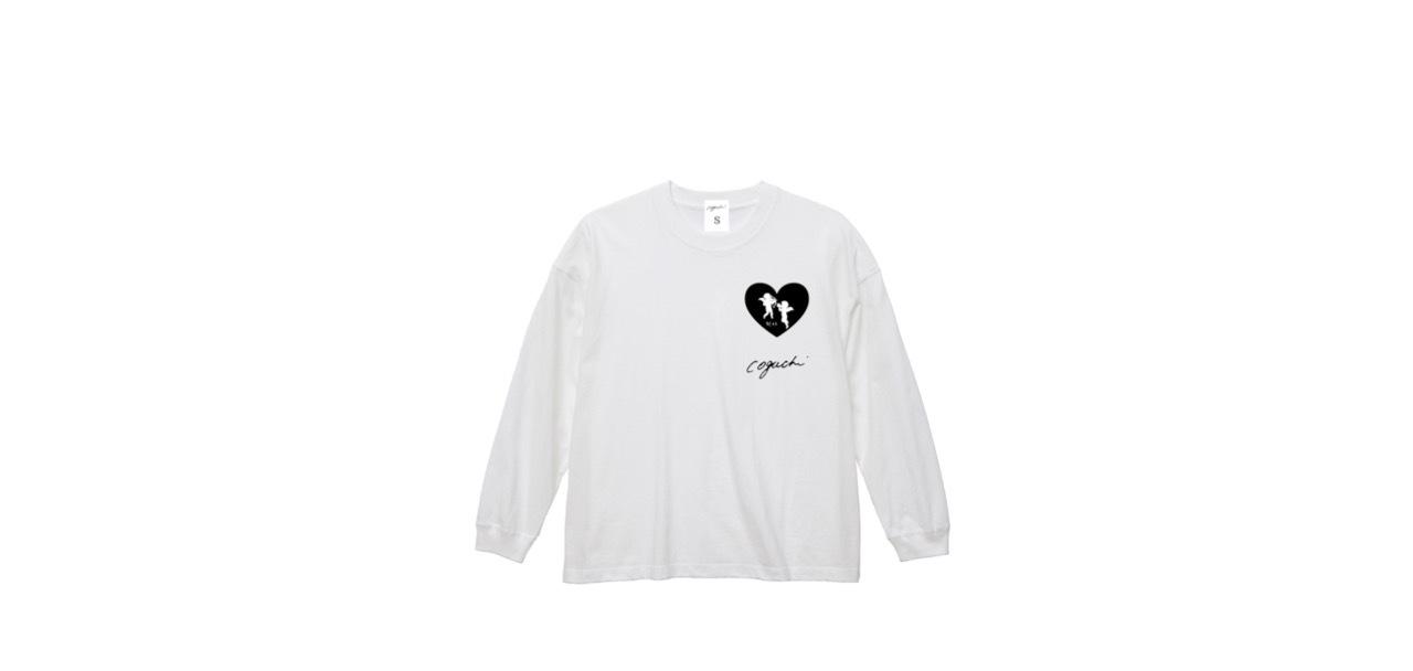 coguchi angel big long T-shirts (WH)