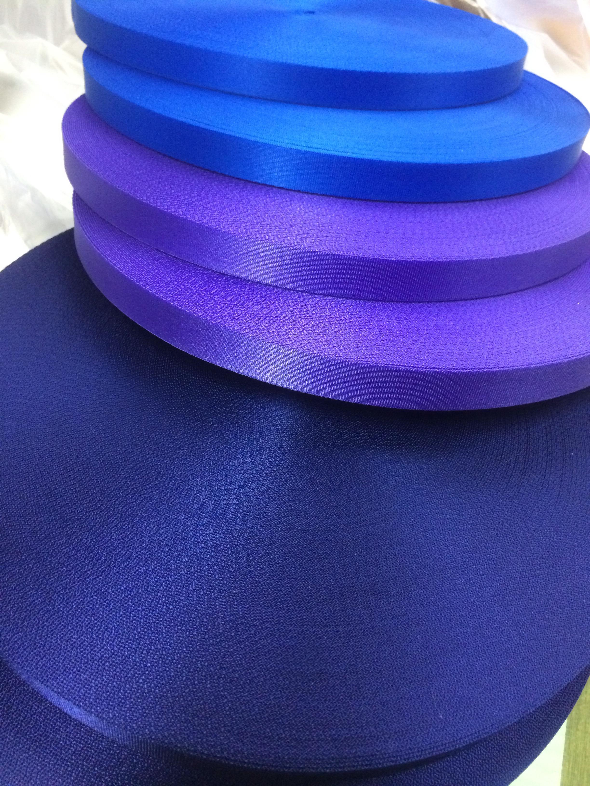 ナイロン 流綾織 15mm幅 カラー(黒以外) 1m