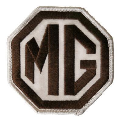 MG・ロゴ・ワッペン・ブラウン
