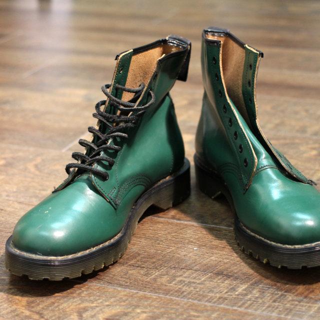 【Dead Stock】 デッドストック ホーキンス 8ホール ブーツ イギリス グリーン (Hawkins 8hole Boots)
