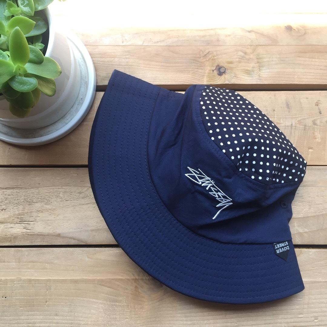 Stussy x Dover Street Market Dot Bucket Hat