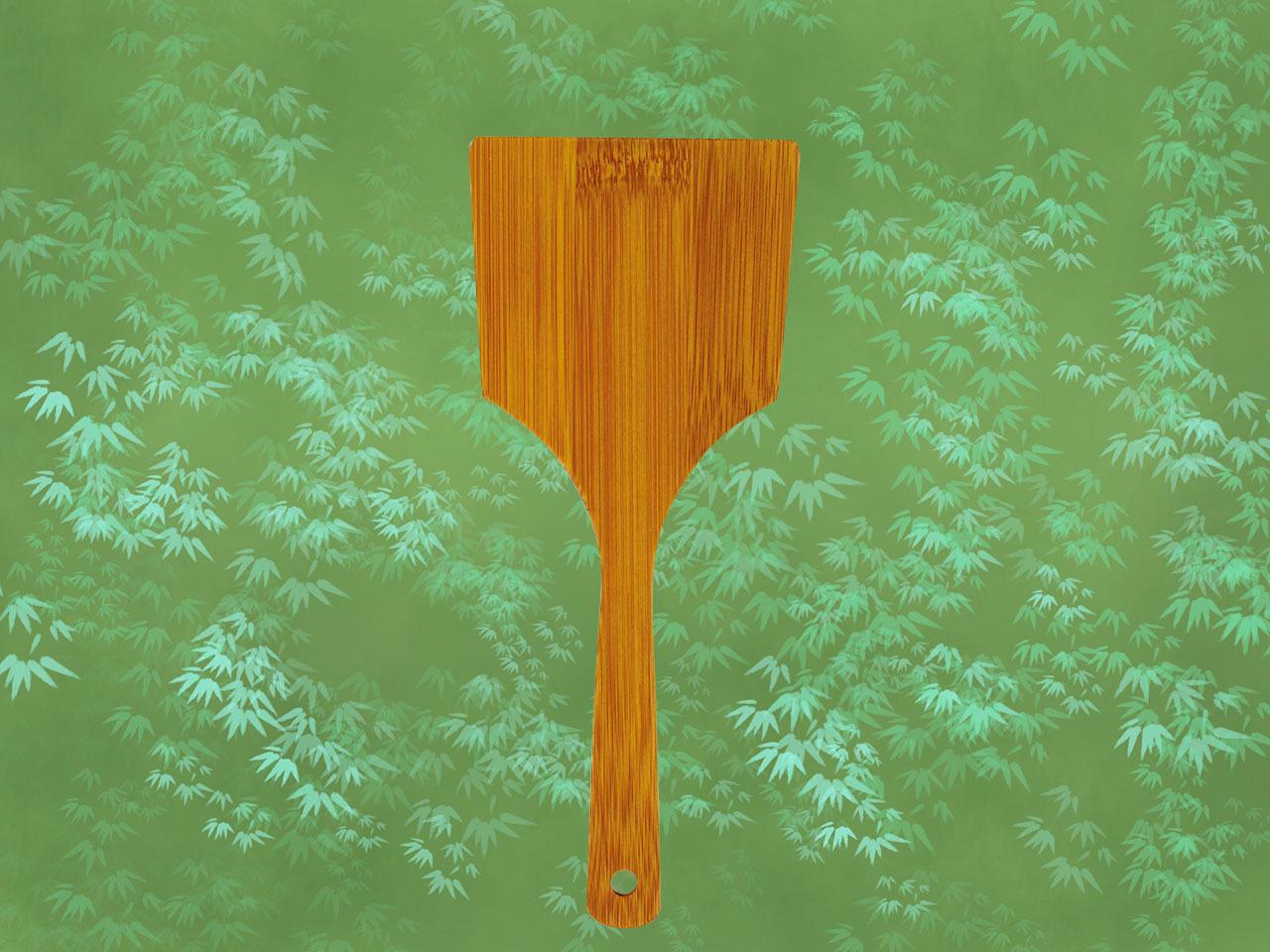 竹製 「スス竹 お好み焼き用へら28cm」日本製 玉子焼きにもおすすめです! ポストIN発送対応商品