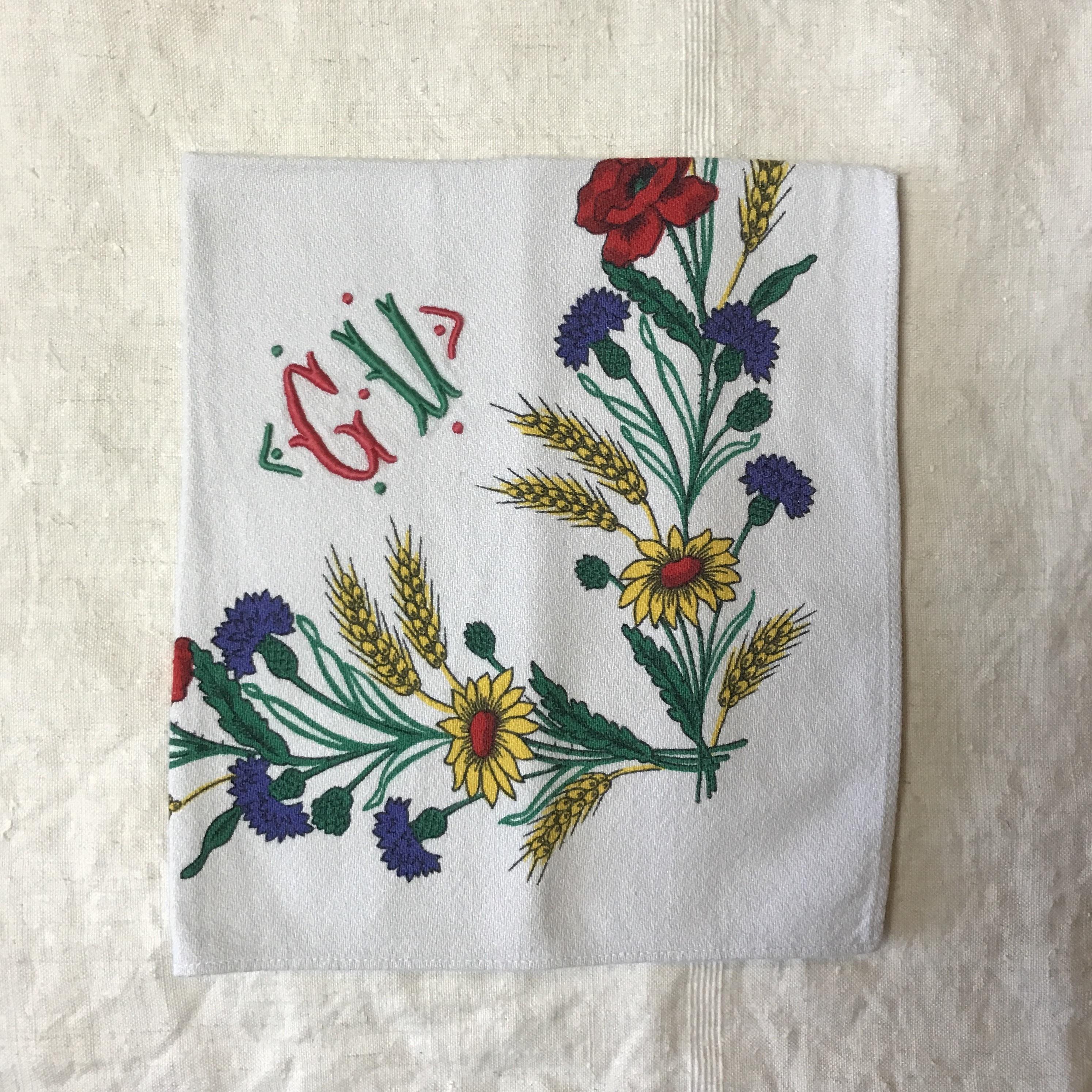花のナプキンセット