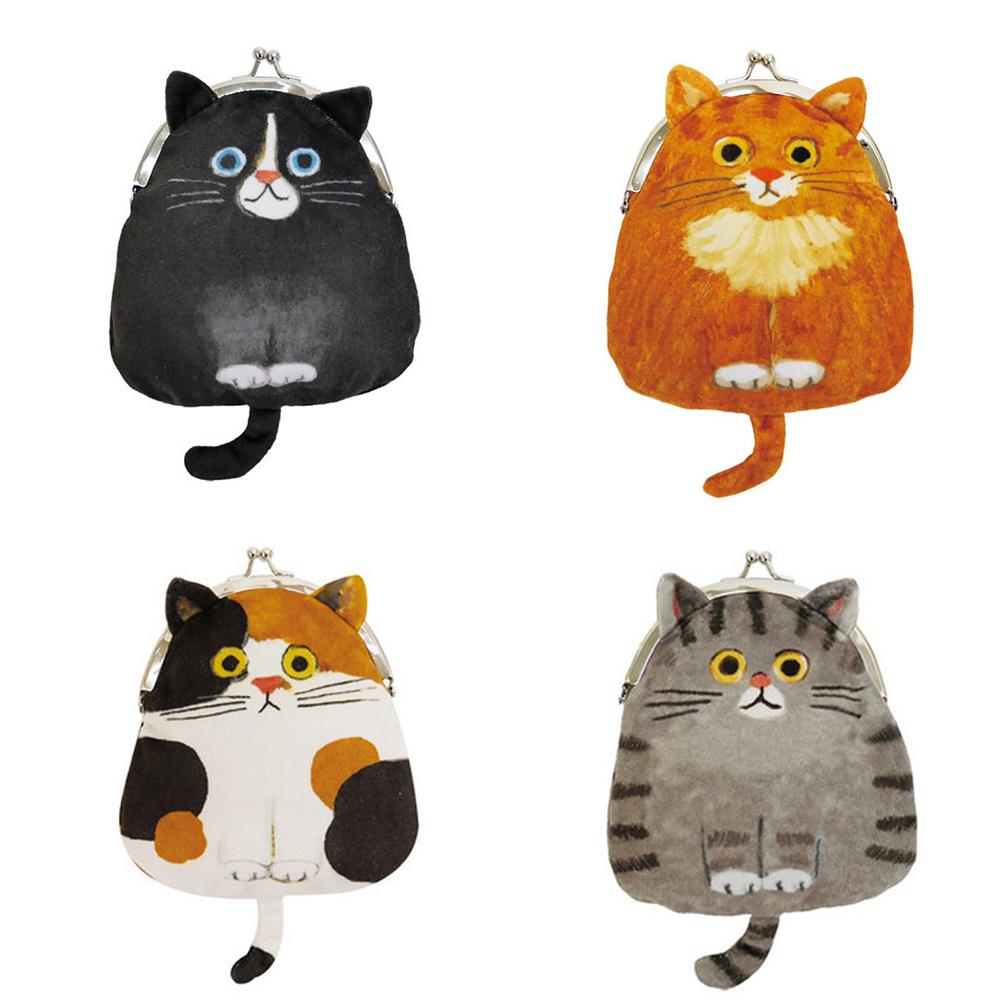 猫がま口ポーチ(エクート猫ガマグチポーチ)全4種類