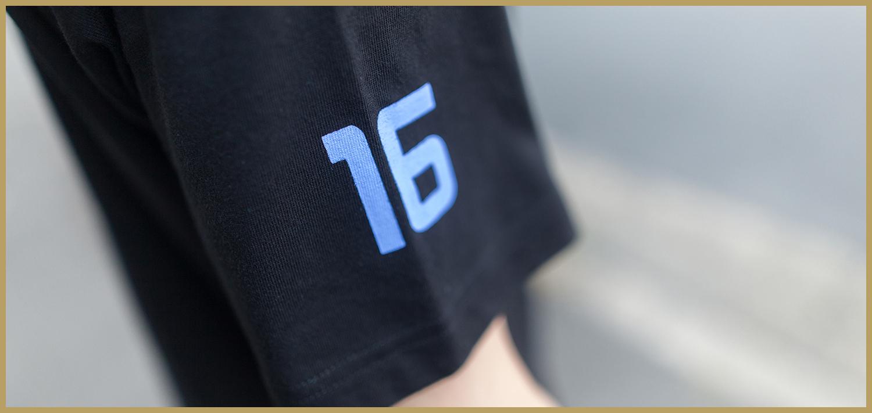 メガドライブ /NUMBER16(半袖)/GET READY