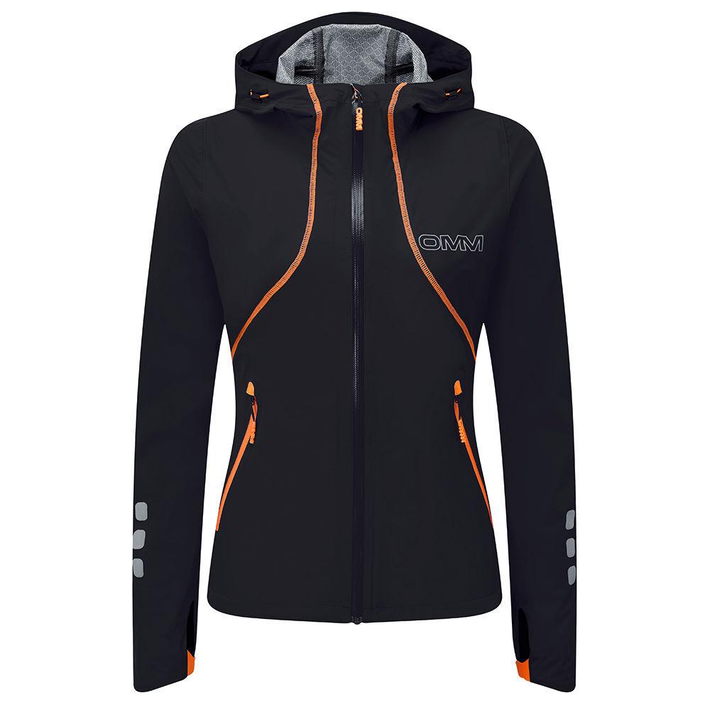 OMM/オーエムエム/オリジナルマウンテンマラソン ウィメンズ OMM Kamleika Race Jacket II カムレイカジャケット ブラック OC0950