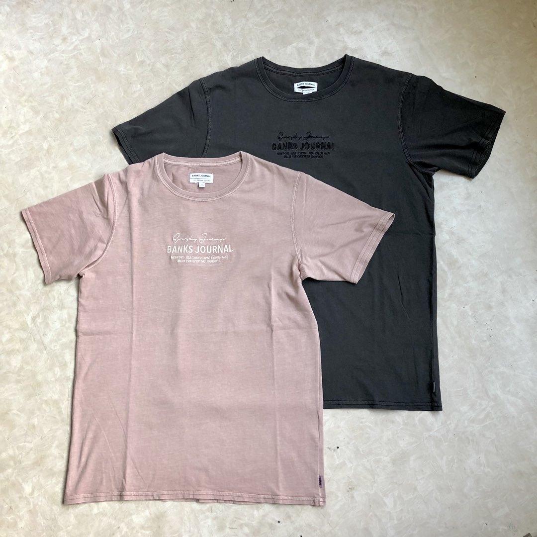 BANKS バンクス TOKEN Tシャツ ロゴTシャツ SURF サーフ ATS0285