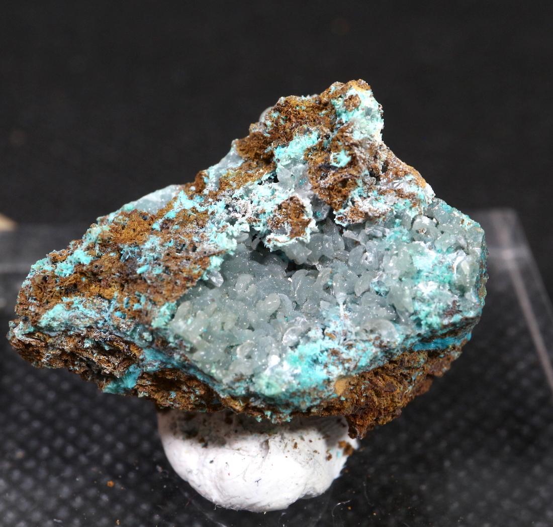 クリソコラ + ヘミモルファイト 珪孔雀石 6,7g CHS016  鉱物 天然石 原石 パワーストーン