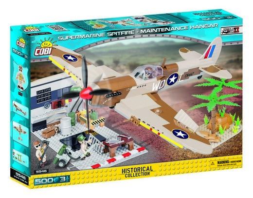 COBI #5546 スピットファイア Mk. IX 整備セット