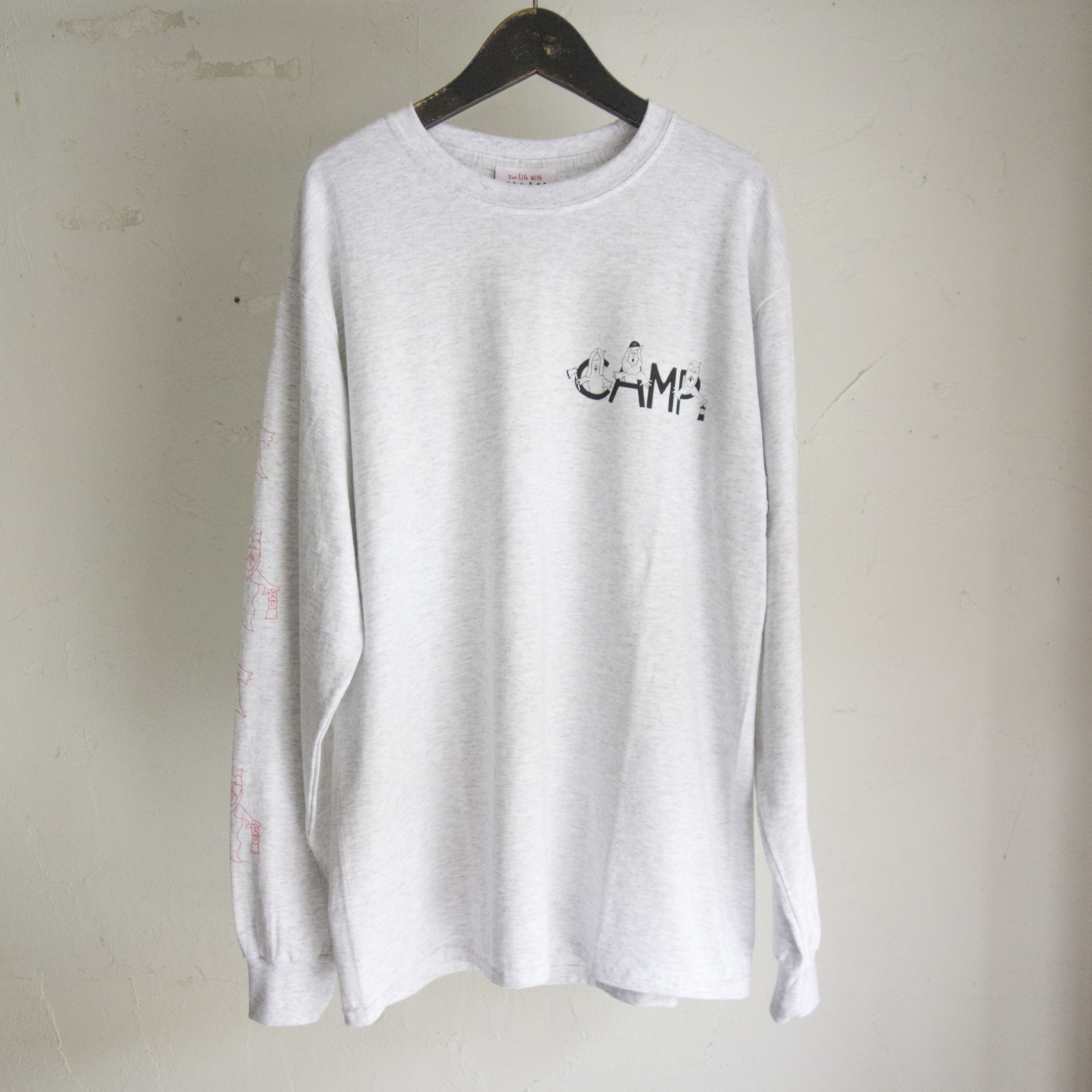 Chi-bee Camp Busters Ash Long Sleeve