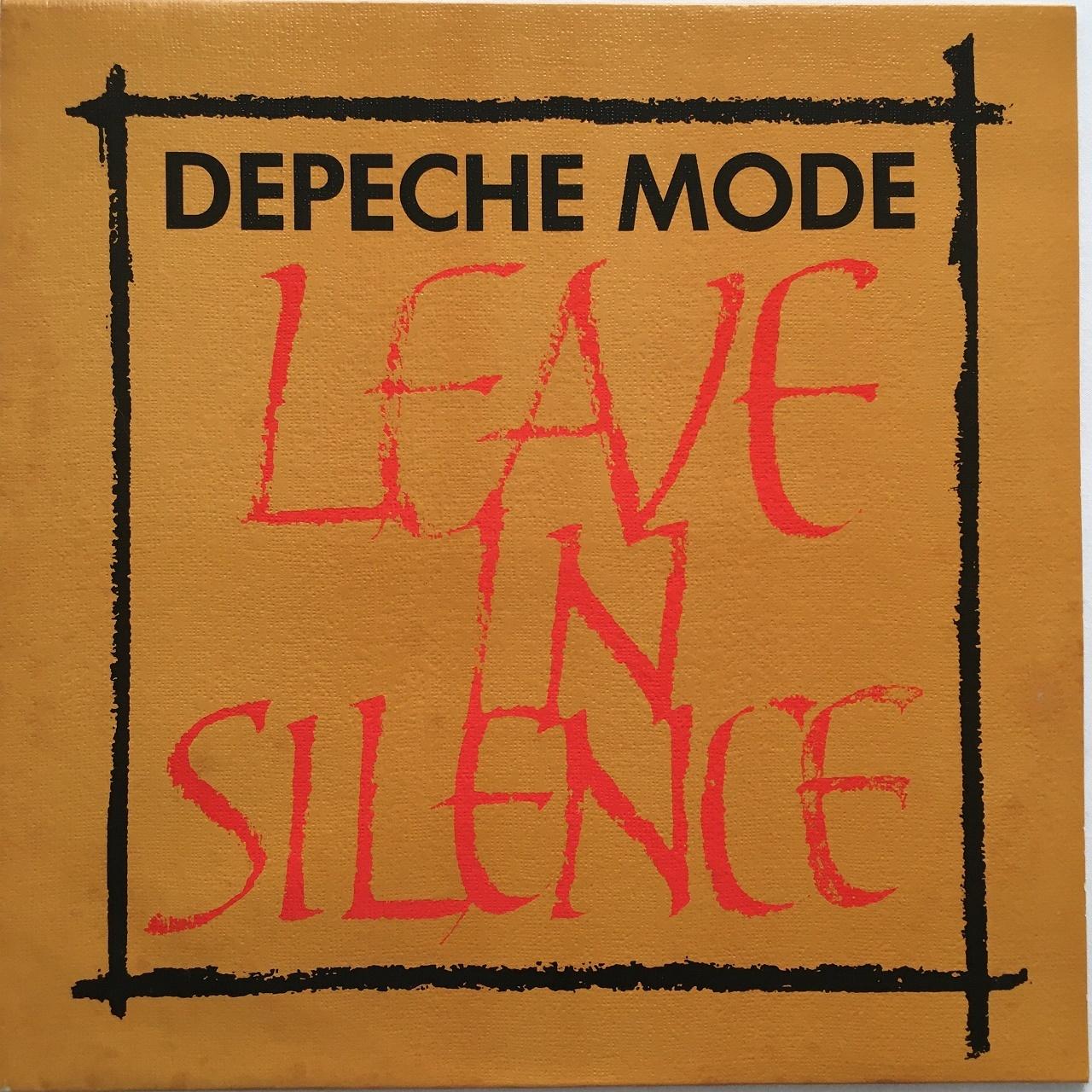 【12inch・英盤】Depeche Mode /  Leave In Silence