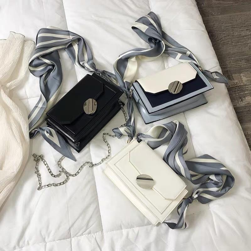 scarf elegant bag