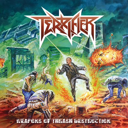 "TERRIFIER ""Wepons Of Thrash Destruction"""