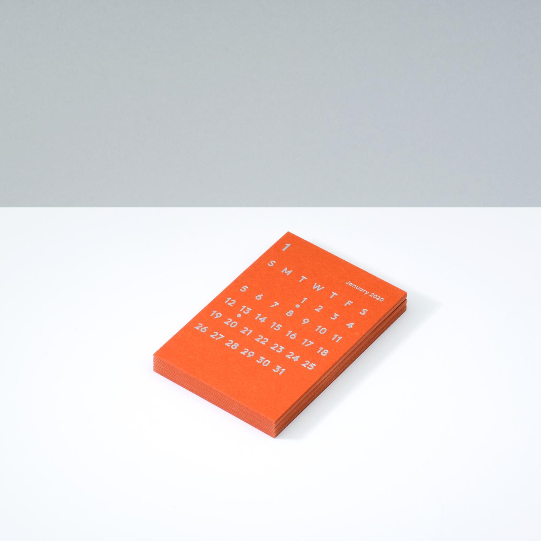 'CLARA' Calendar Refill 2020 Orange