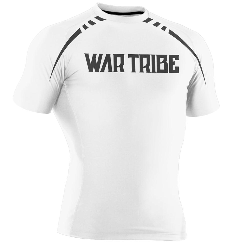 SALE!!!10%OFF WAR TRIBE GEAR  SPEED  ラッシュガード 半袖 ホワイト