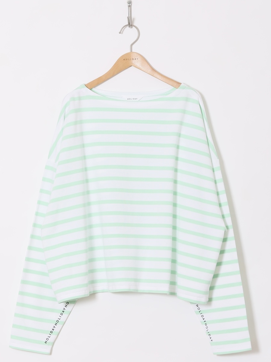 【HOLIDAY】RUSSELL BORDER TOPS