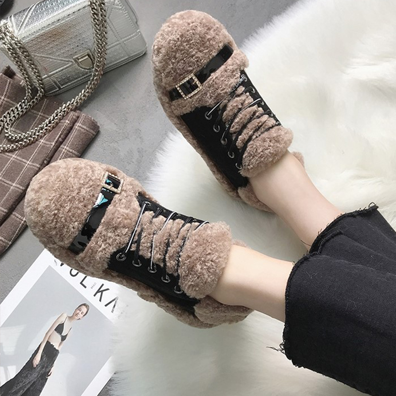 【shoes】ファッション切り替え合わせやすいフラットシューズ24353104