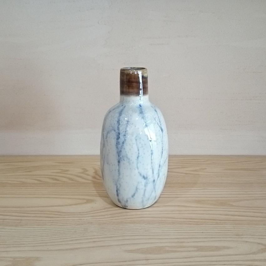 陶器  クラック ブラウントップ
