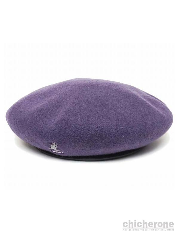 【KANGOL】SMU Wool Big Monty Blackberry