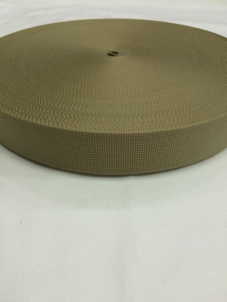 ナイロンテープ  12本トジ織  38mm幅  1.5mm厚  カラー(黒以外)  5m