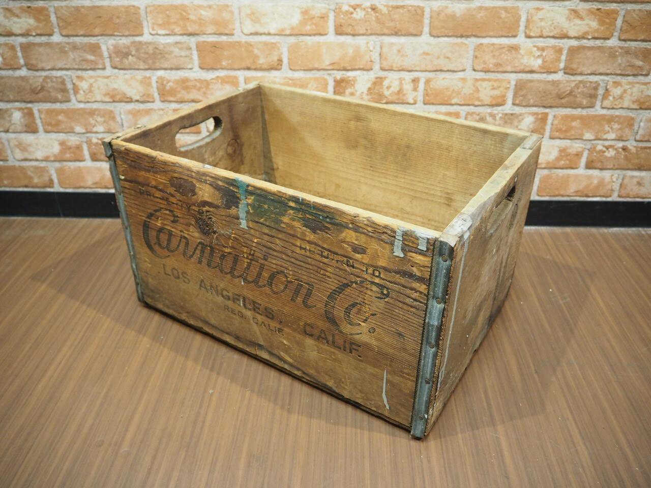 品番3516 木箱 / Crate
