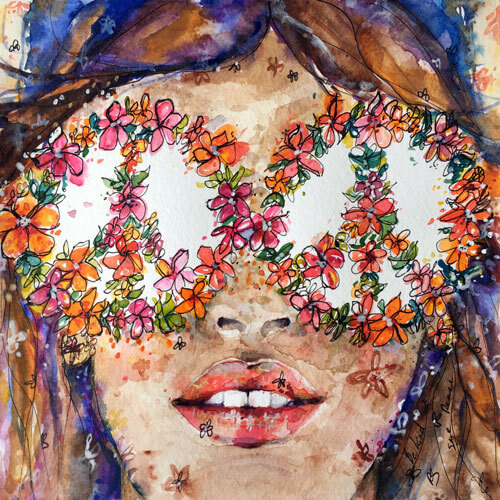 【GOLDFISH KISS】Eye See Peace 8×8