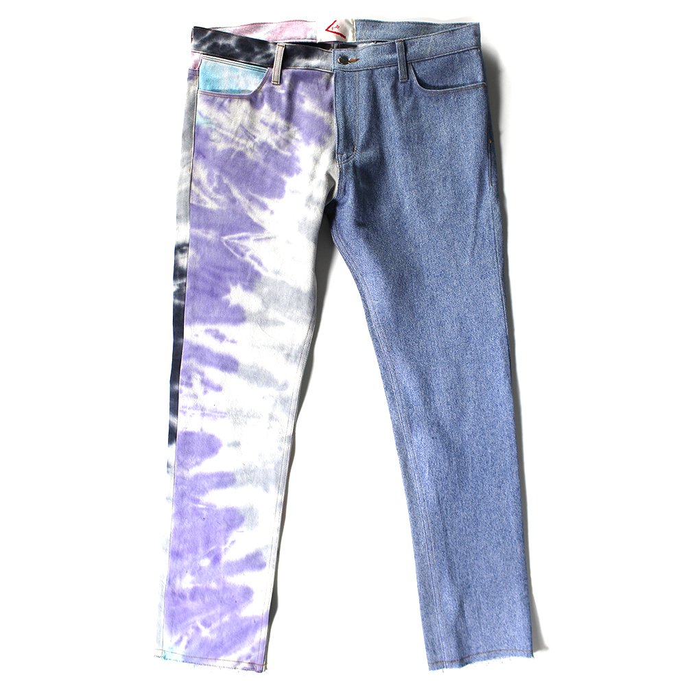 BOND tye die denim pants