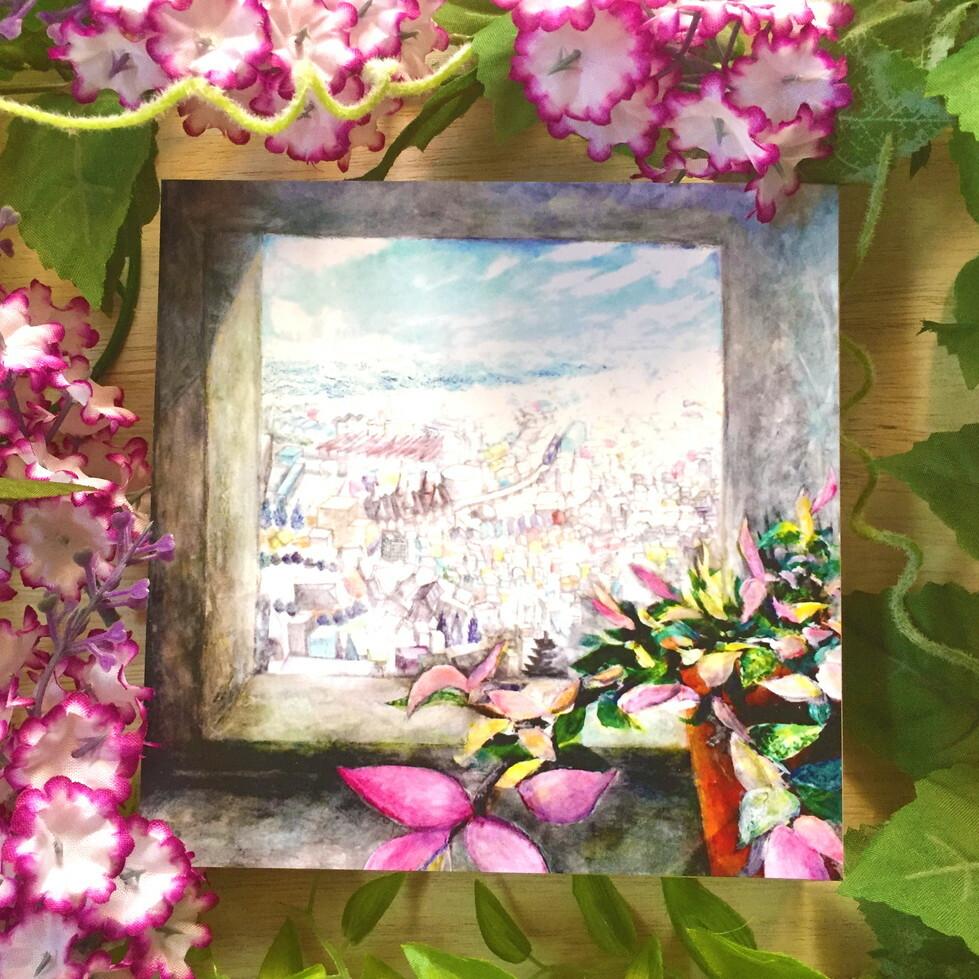 絵画 インテリア アートパネル 雑貨 壁掛け 置物 おしゃれ 風景画 抽象画 ロココロ 画家 : MP 作品 : ひとやすみ