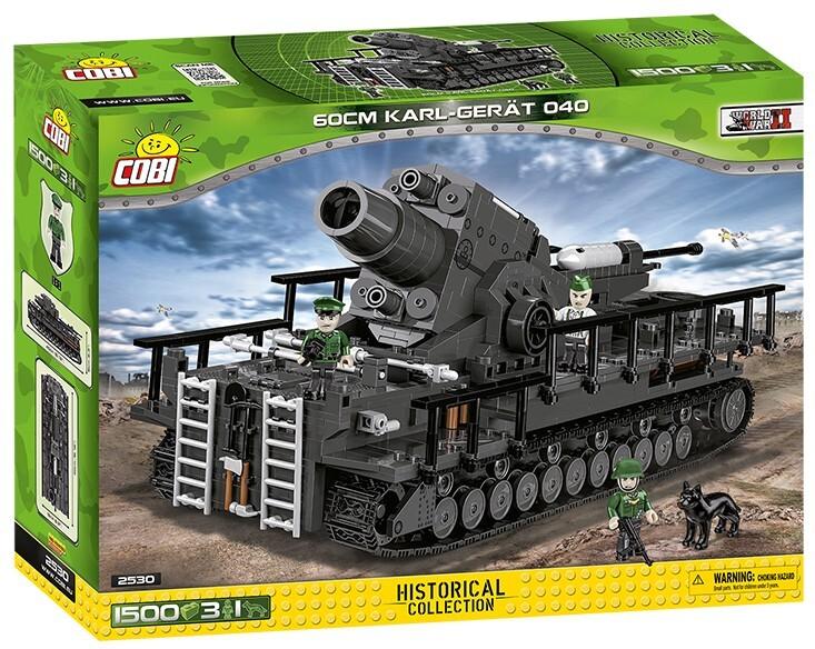 COBI #2530 60cmカール自走臼砲 040