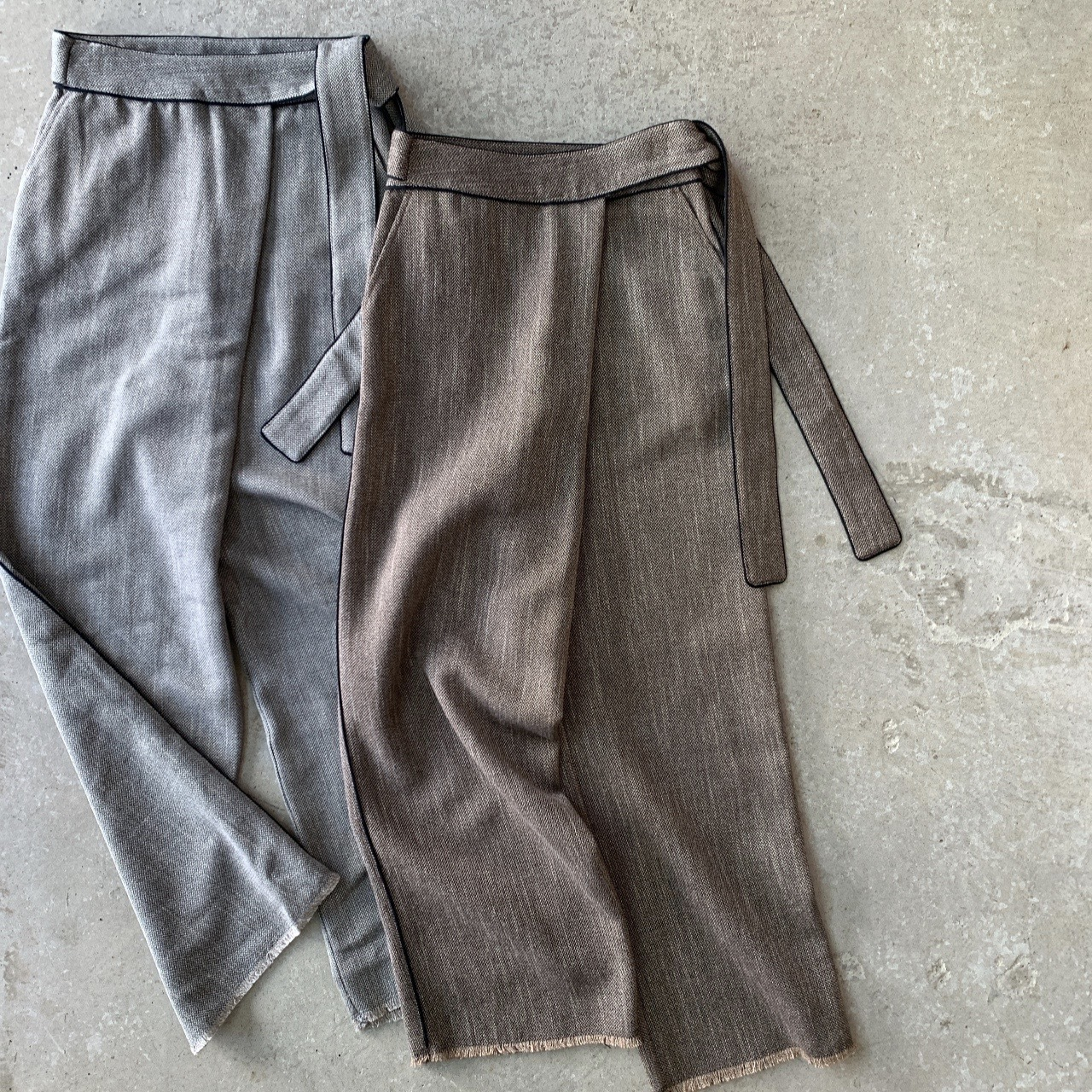 VillD - tweed pants