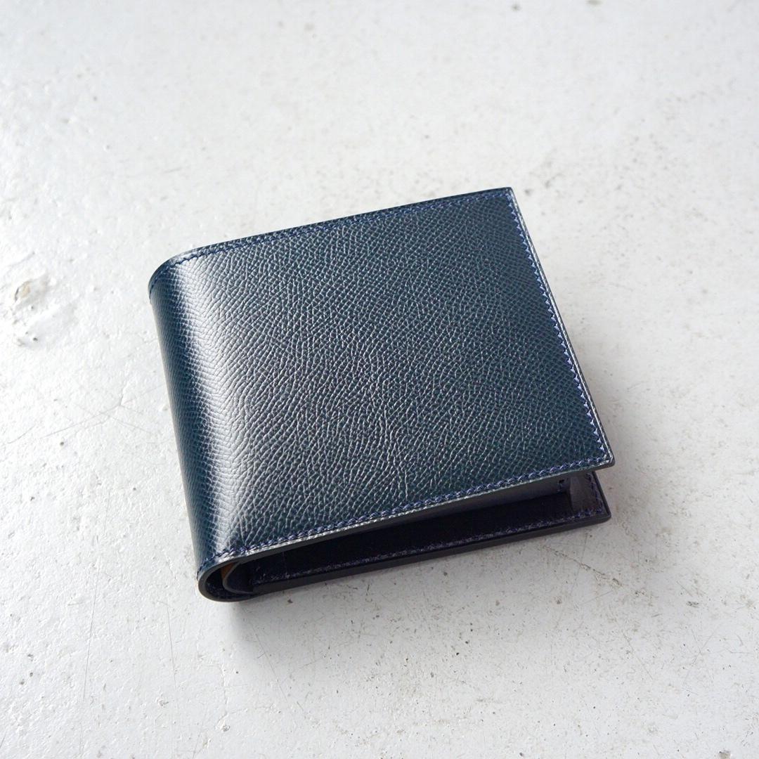 二つ折財布 <Regulus> ネイビー