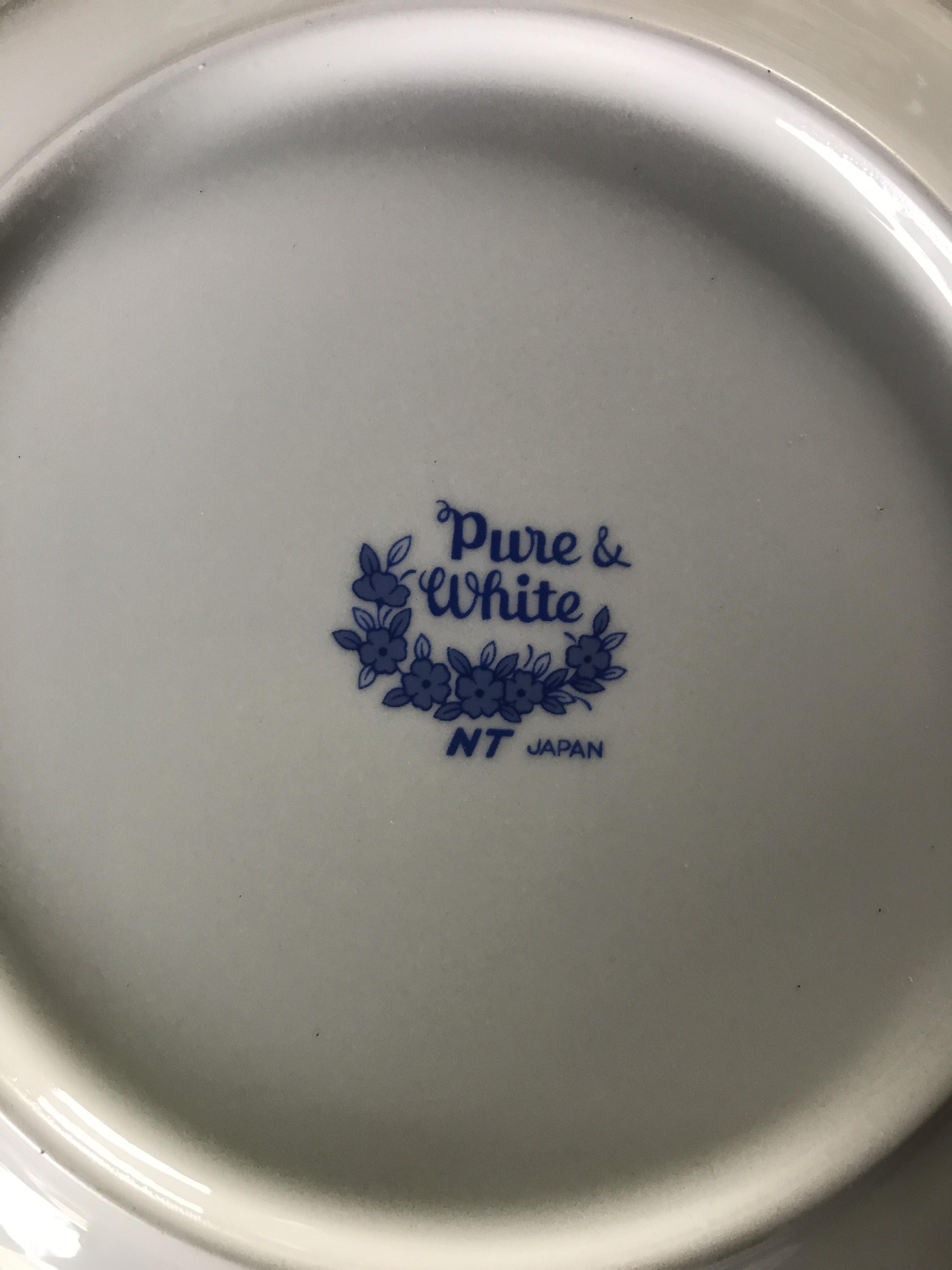 レトロなお皿