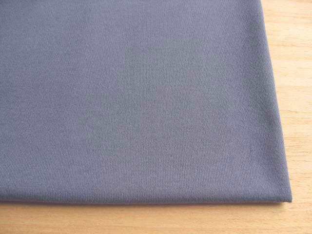 J&B定番 綿30双糸スーパー度詰天竺 ブルーグレー NTM-2091