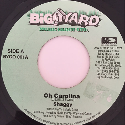 Shaggy(シャギー) - Oh Carolina【7'】