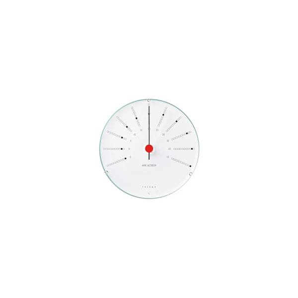 ARNE JACOBSEN / ウェザーステーション BANKERS  Thermometer φ120 43687 温度計