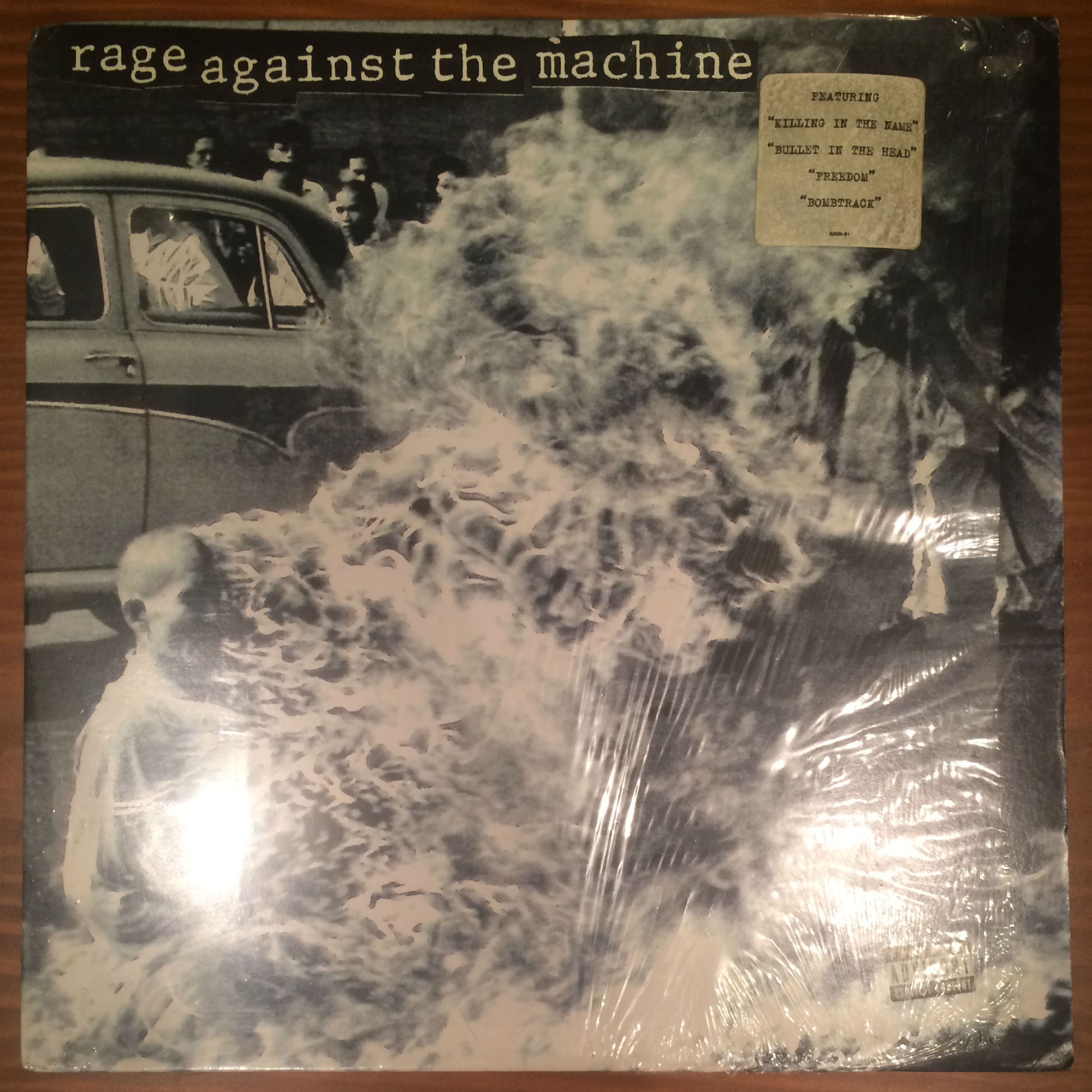 ●RAGE AGAINST THE MACHINE / S/T