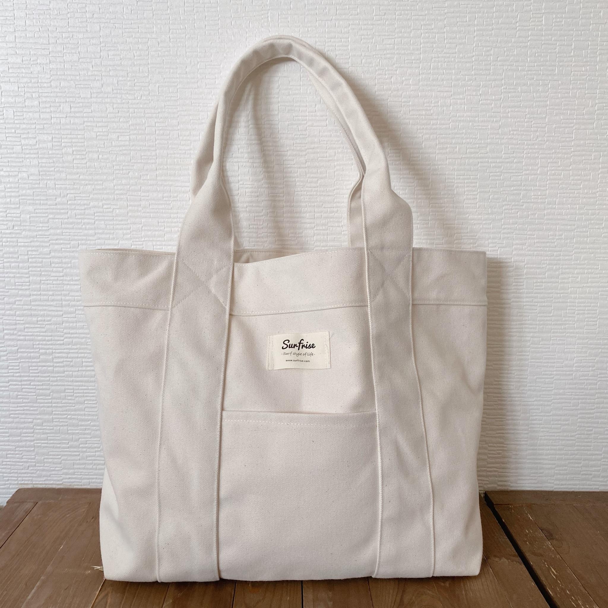 Tote bag L - White