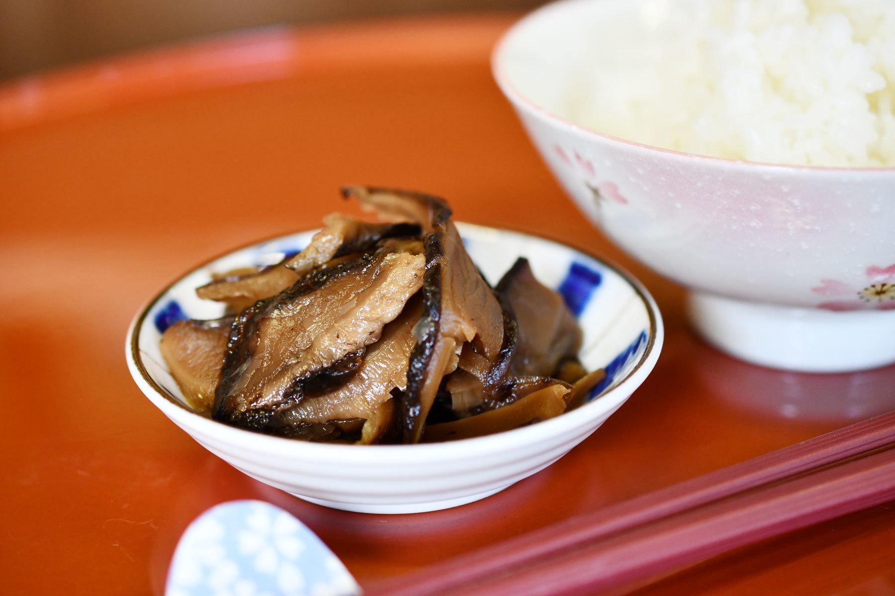五木産原木椎茸の甘辛煮 - 画像3